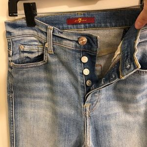 Seven bootleg jeans size 27